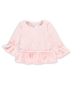 One Step Up Little Girls' Toddler Velour L/S Shirt (Sizes 2T – 4T) - CookiesKids.com