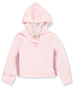 One Step Up Little Girls' L/S Hooded Top (Sizes 4 – 6X) - CookiesKids.com
