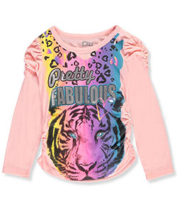 Qtee Little Girls' L/S Top (Sizes 4 – 6X) - CookiesKids.com