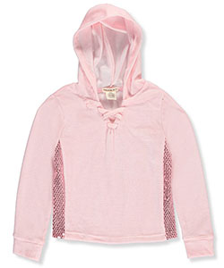 One Step Up Big Girls' L/S Hooded Top (Sizes 7 – 16) - CookiesKids.com