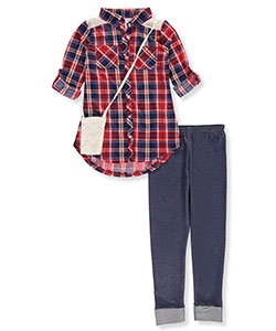 One Step Up Big Girls' 2-Piece Outfit with Purse (Sizes 7 – 16) - CookiesKids.com