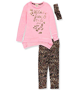 One Step Up Big Girls' 2-Piece Outfit with Headband (Sizes 7 – 16) - CookiesKids.com