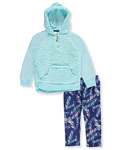 One Step Up Little Girls' 2-Piece Outfit (Sizes 4 – 6X) - CookiesKids.com
