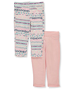 Colette Lilly Baby Girls' 2-Pack Jeggings - CookiesKids.com