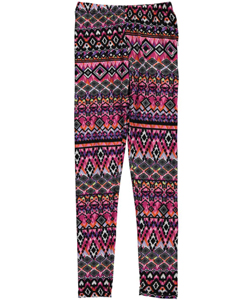 "Star Ride Big Girls' ""Psychedelic Grandeur"" Leggings (Sizes 7 – 16) - CookiesKids.com"