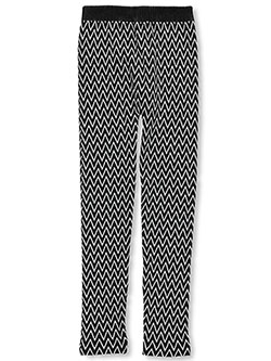 "Star Ride Big Girls' ""Chevron Fleece"" Leggings (Sizes 7 – 16) - CookiesKids.com"