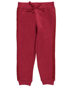 "Star Ride Little Girls' ""Sequined Star"" Joggers (Sizes 4 – 6X) - CookiesKids.com"