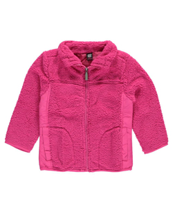 "Star Ride Little Girls' ""Centennial"" Fleece Jacket (Sizes 4 – 6X) - CookiesKids.com"