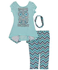 "Star Ride Big Girls' ""Bright Wing"" 3-Piece Outfit (Sizes 7 – 16) - CookiesKids.com"