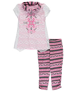 "Star Ride Big Girls' ""Between the Lines"" 3-Piece Outfit (Sizes 7 – 16) - CookiesKids.com"