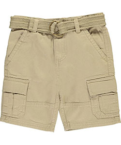 "Smith's American Little Boys' Toddler ""Expedition"" Belted Cargo Shorts (Sizes 2T – 4T) - CookiesKids.com"