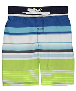 "Smith's American Big Boys' ""Striped Paint"" Boardshorts (Sizes 8 – 20) - CookiesKids.com"
