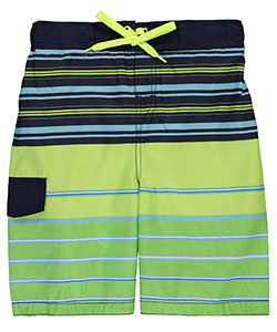 "Smith's American Big Boys' ""Lined Stripes"" Boardshorts (Sizes 8 – 20) - CookiesKids.com"