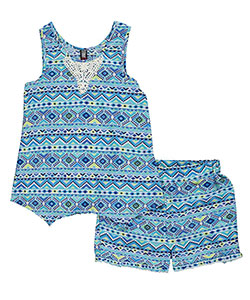 "Star Ride Big Girls' ""Costa Mesa"" 2-Piece Outfit (Sizes 7 – 16) - CookiesKids.com"