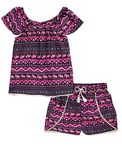 "Star Ride Big Girls' ""Royal Parade"" 2-Piece Outfit (Sizes 7 – 16) - CookiesKids.com"