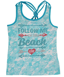 "Star Ride Little Girls' ""Follow Me"" Tank Top (Sizes 4 – 6X) - CookiesKids.com"