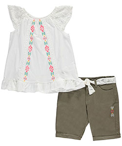 "Star Ride Big Girls'  ""High Plains"" 2-Piece Outfit (Sizes 7 – 16) - CookiesKids.com"