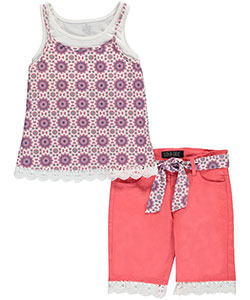 "Star Ride Big Girls'  ""Cosmic Cool"" 2-Piece Outfit (Sizes 7 – 16) - CookiesKids.com"