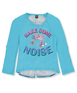 Star Ride Big Girls' Top with Necklace (Sizes 7 – 16) - CookiesKids.com