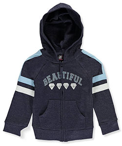 Star Ride Little Girls' Toddler French Terry Hoodie (Sizes 2T – 4T) - CookiesKids.com