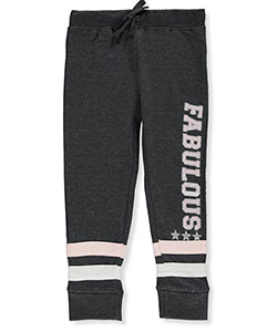 Star Ride Little Girls' Toddler French Terry Joggers (Sizes 2T – 4T) - CookiesKids.com