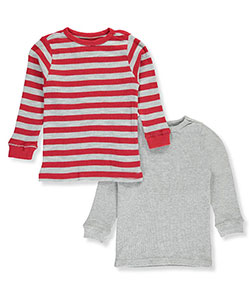 Smith's American Big Boys' 2-Pack Thermal Shirts (Sizes 8 – 20) - CookiesKids.com