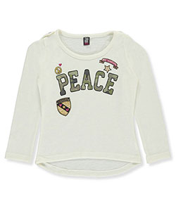 Star Ride Little Girls' L/S Top (Sizes 4 – 6X) - CookiesKids.com
