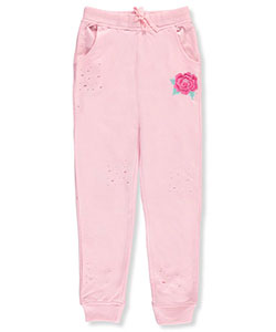 Star Ride Big Girls' French Terry Joggers (Sizes 7 – 16) - CookiesKids.com