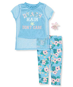 Star Ride Girls' 2-Piece Outfit with Hair Clip - CookiesKids.com