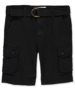 Smith's American Boys' Belted Cargo Shorts - CookiesKids.com