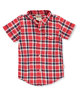 Smith's American Boys' Button-Down Shirt - CookiesKids.com