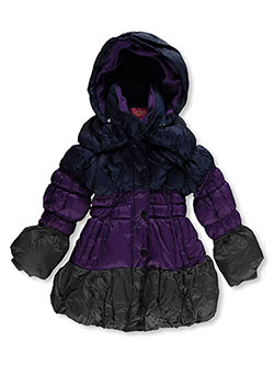 "Catherine Malandrino Little Girls' Toddler ""Next Segment"" Insulated Jacket (Sizes 2T – 4T) - CookiesKids.com"