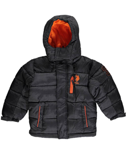 "U.S. Polo Assn. Little Boys' ""Greenhorn"" Insulated Jacket (Sizes 4 – 7) - CookiesKids.com"