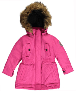 "Weatherproof Big Girls' ""Weather Expedition"" Insulated Parka (Sizes 7 – 16) - CookiesKids.com"
