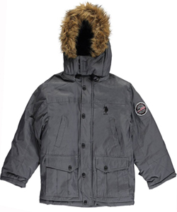 "U.S. Polo Assn. Big Boys' ""Idon"" Insulated Jacket (Sizes 8 – 20) - CookiesKids.com"