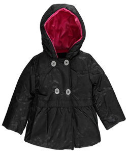 "Steve Madden Baby Girls' ""Sublime Roses"" Insulated Jacket - CookiesKids.com"