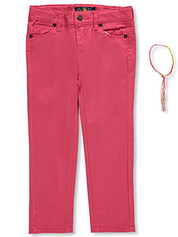 "Lucky Brand Little Girls' ""Colorfully Tied"" Jeans (Sizes 4 – 6X) - CookiesKids.com"