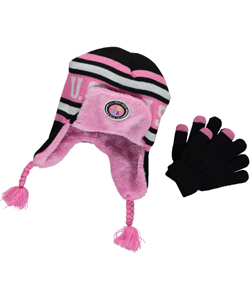 "U.S. Polo Assn. ""Plush Trapper"" 2-Piece Winter Accessories Set (Youth One Size) - CookiesKids.com"