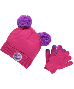 "U.S. Polo Assn. ""Double Pom Pom"" 2-Piece Winter Accessories Set (Youth One Size) - CookiesKids.com"