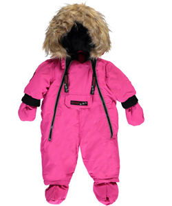 "Canada Weather Gear Baby Girls' ""Summit Attempt"" 1-Piece Snowsuit - CookiesKids.com"