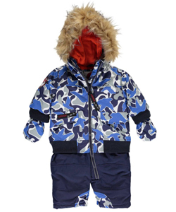 "Canada Weather Gear Baby Boys' ""Winter Warmer"" 1-Piece Snowsuit - CookiesKids.com"