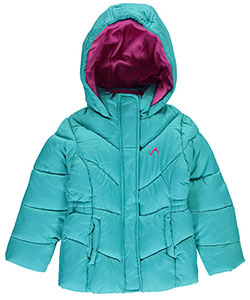 "Vertical '9 Little Girls'  Toddler ""Chevron"" Insulated Parka (Sizes 2T – 4T) - CookiesKids.com"