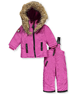Canada Weather Gear Baby Girls' 2-Piece Snowsuit - CookiesKids.com