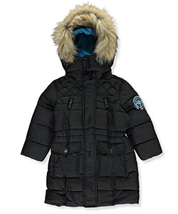 Weatherproof Little Girls' Insulated Parka (Sizes 4 – 6X) - CookiesKids.com