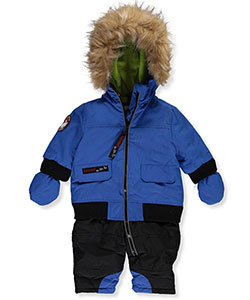 Canada Weather Gear Baby Boys' 1-Piece Snowsuit - CookiesKids.com