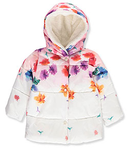 Jessica Simpson Baby Girls' Insulated Jacket - CookiesKids.com