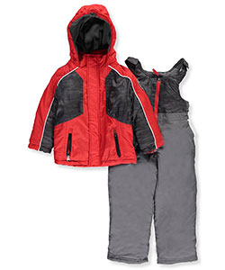 Weatherproof Little Boys' Toddler 2-Piece Snowsuit (Sizes 2T – 4T) - CookiesKids.com