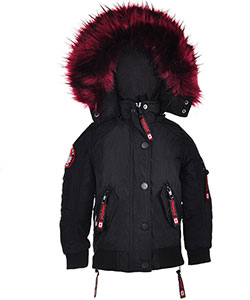 Canada Weather Gear Little Girls' Insulated Jacket (Sizes 4 – 6X) - CookiesKids.com