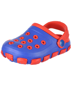 "Tendertoes Baby Boys' ""2-Tone"" Aqua Clogs - CookiesKids.com"