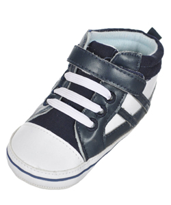 "Tendertoes Baby Boys' ""Pasho"" Hi-Top Sneaker Booties - CookiesKids.com"